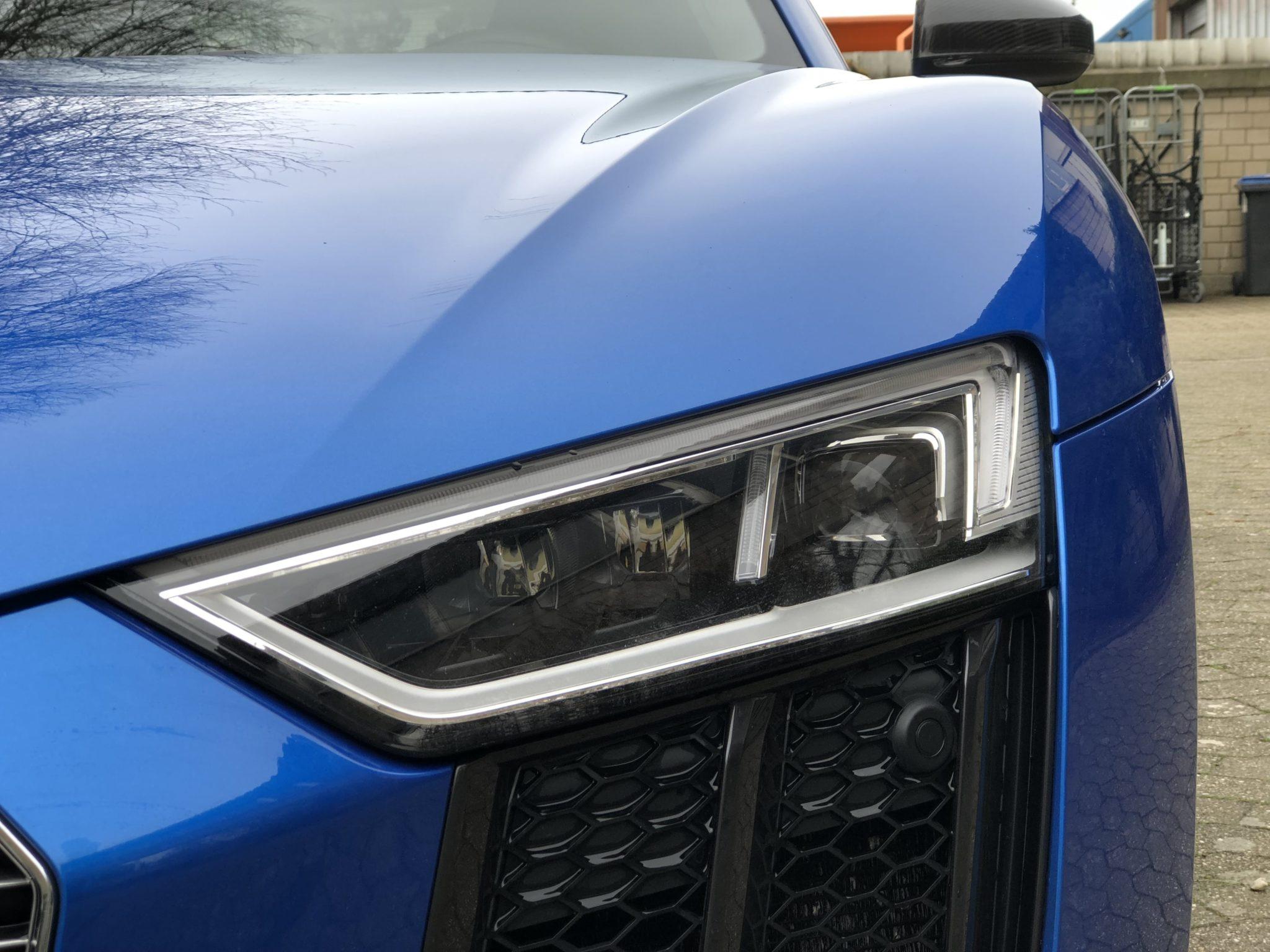 Audi R8 V10 Plus Scheinwerfer