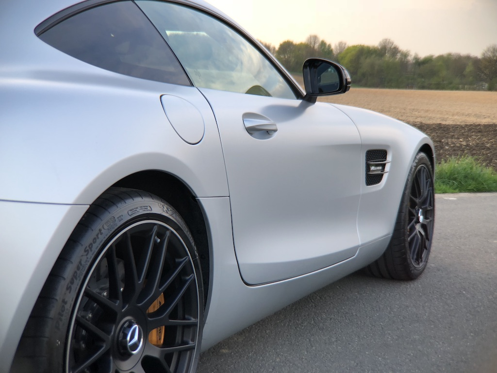 Mercedes AMG GT S Profilansicht