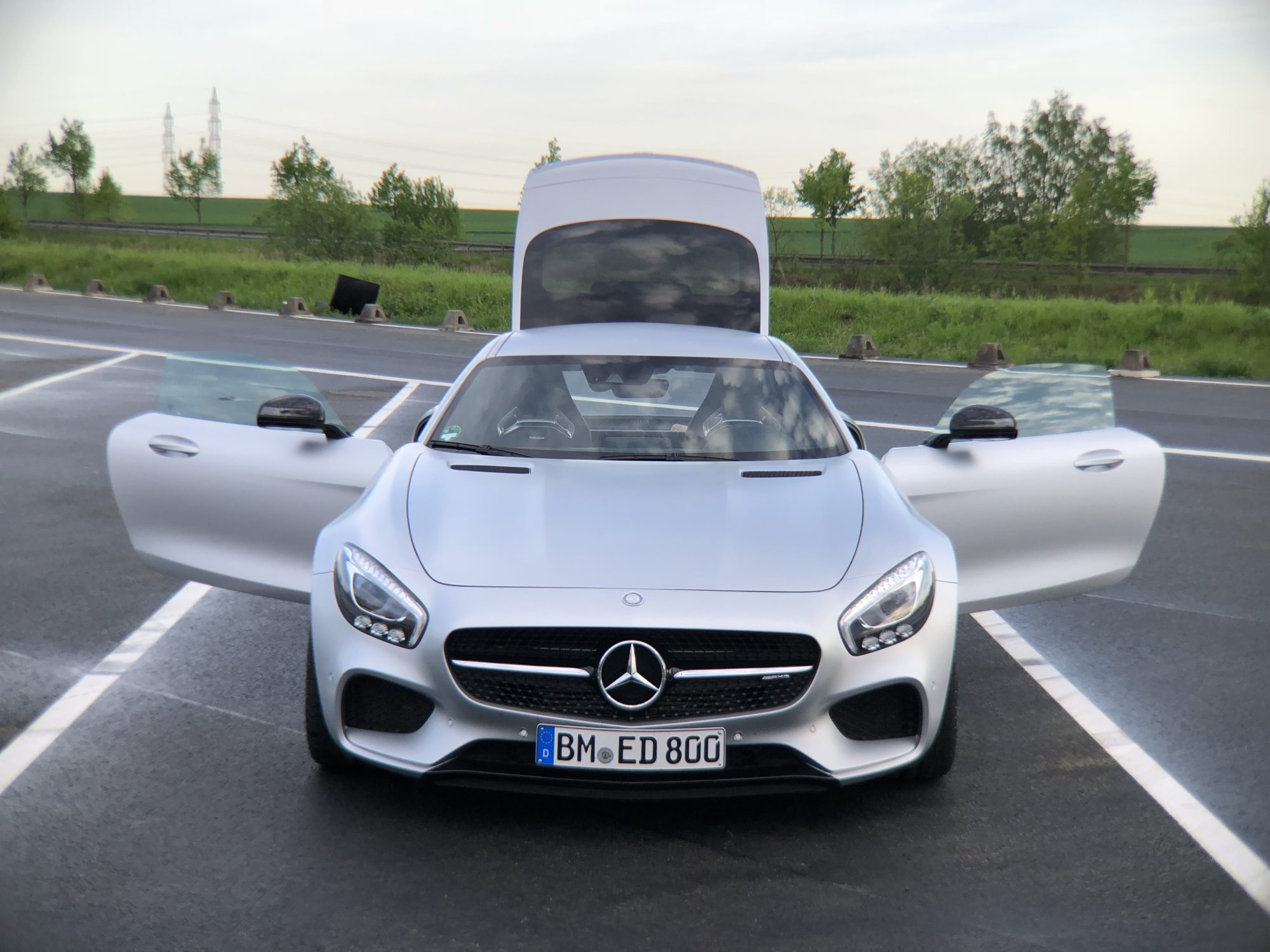 Mercedes AMG GT S Front