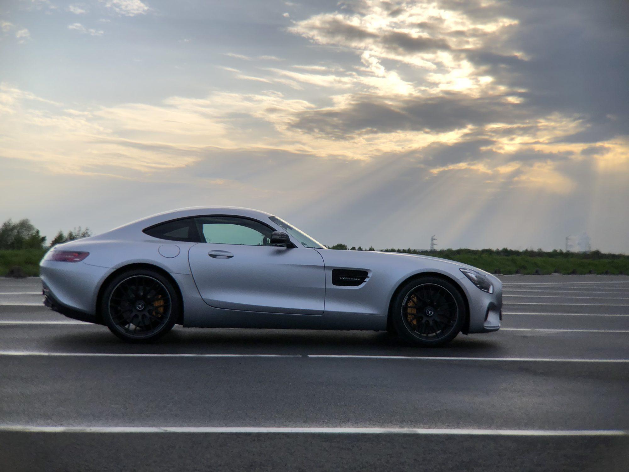 Mercedes AMG GT S Seite