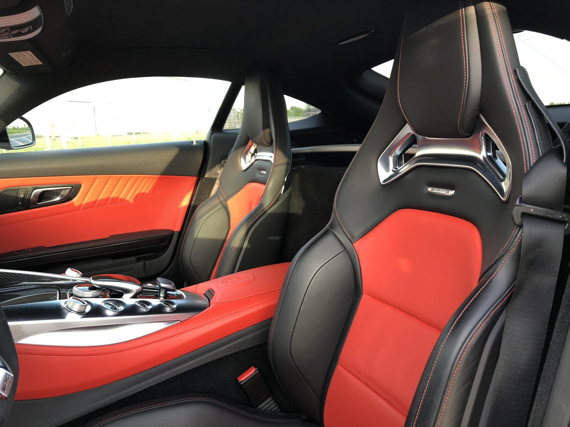 Mercedes AMG GT S Innenansicht Sitze